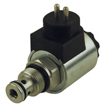 Solenoid valve single acting 24V HACO