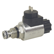 Solenoid valve double acting 24V HACO